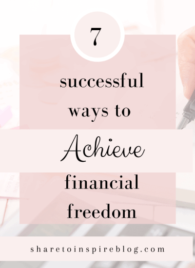 7 ways to achieve financial freedom