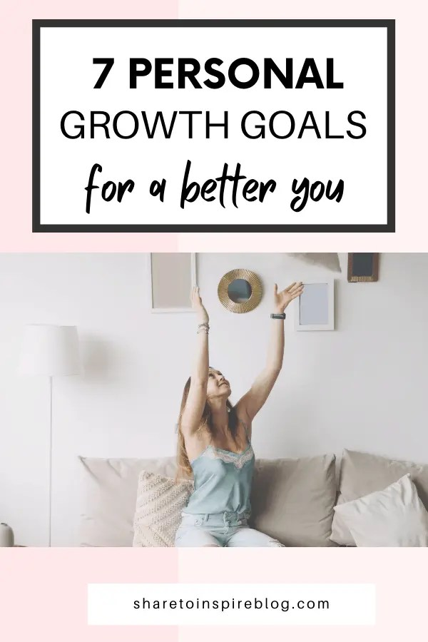 personal growth goals for a better you interest pin
