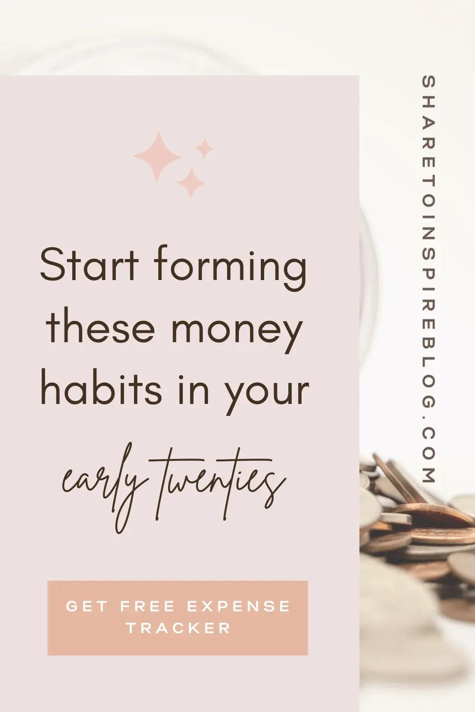 good money habits to form pinterest form