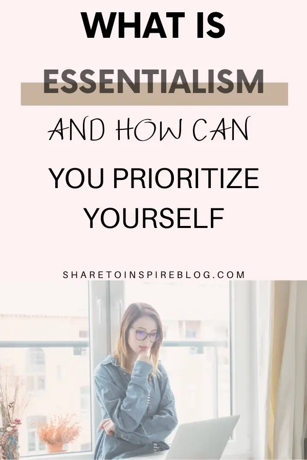 HOW TO BE AN ESSENTIALIST PIN