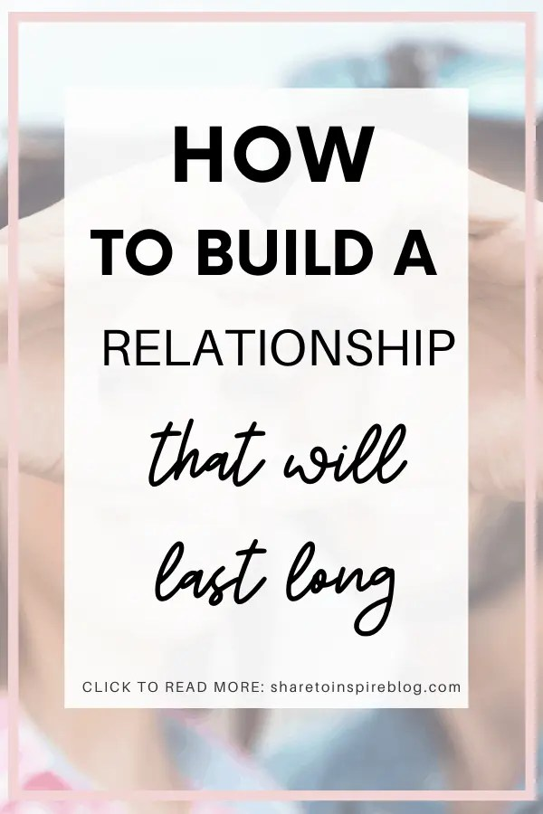 how to build a healthy relationship pinterest pin