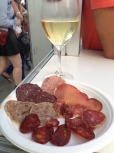 Wine and food win