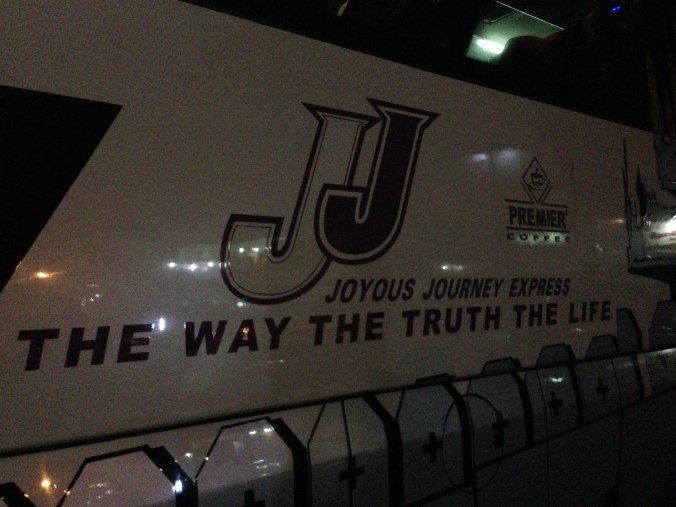 JJ Overnight bus Myanmar