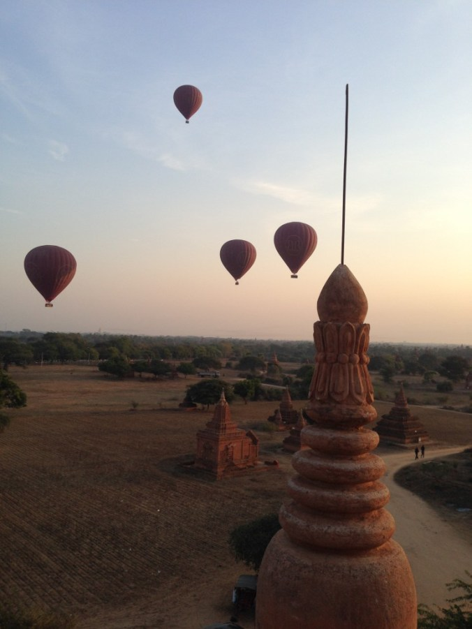 Bagan, Myanmar sunrise