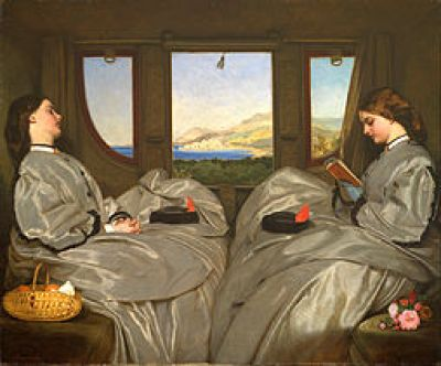 Augustus Egg: The Travelling Companions