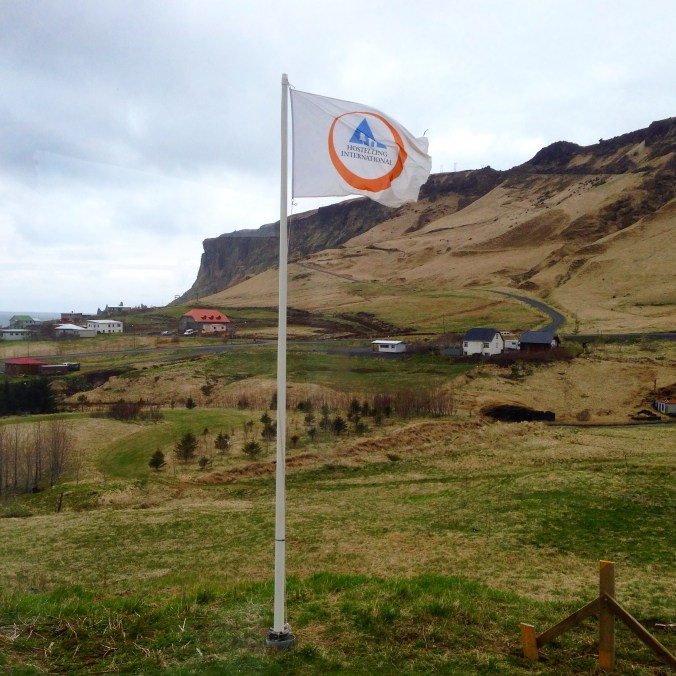 Hostel in Vik: great views and location