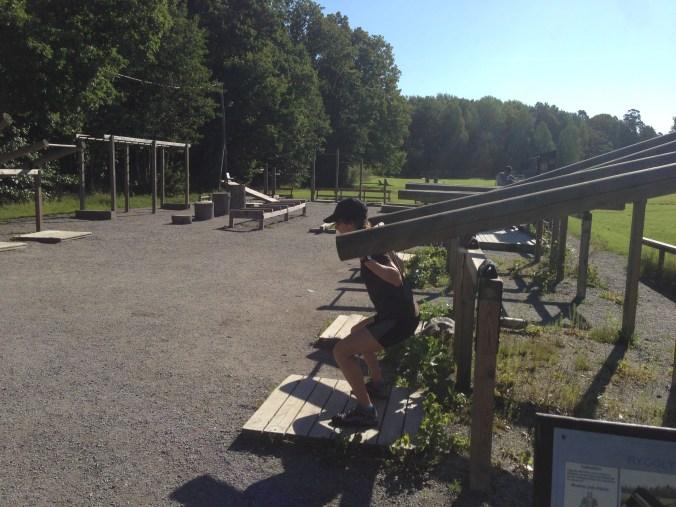 stockholm outdoor gym