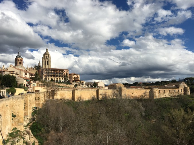 Visiting Segovia with my host family