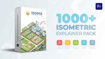 Isometric Explainer Pack for Premiere Pro