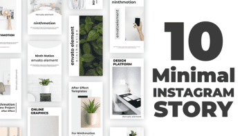 Minimal Instagram Stories