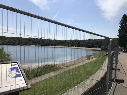 Ruislip Lido beaches closed