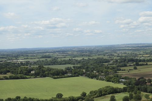 The high point of the Wendover to Coombe Hill Walk