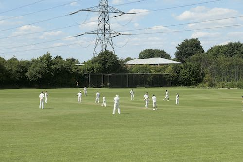 Wendover Cricket club play their first game of the season