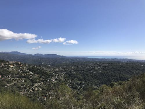 The view as you climb the Baou des Noir