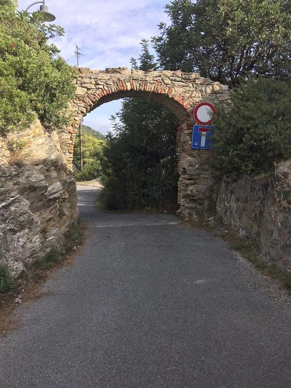 Start of the Via Julia Augusta