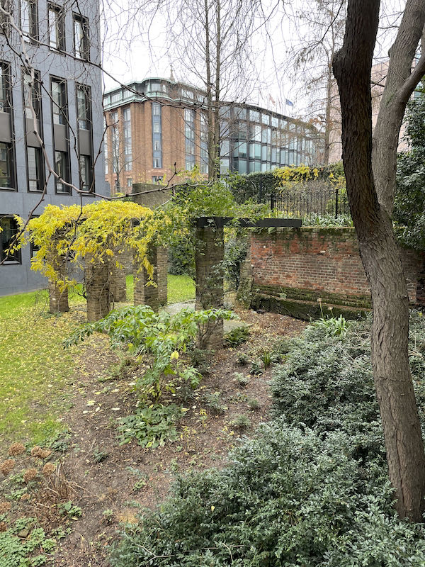 A Dickensian walk near St Paul's begins at the site of a roman bathhouse
