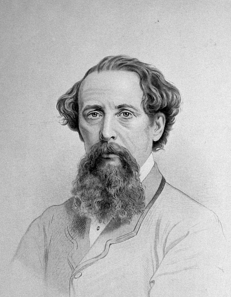 Charles Dickens Drawing