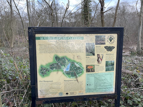 An important notice on the Ruislip to Harefield Loop walk