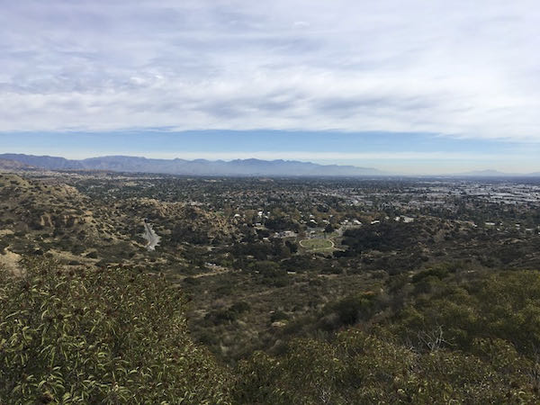 View of San Fernando Valley from the Old Stagecoach Trail