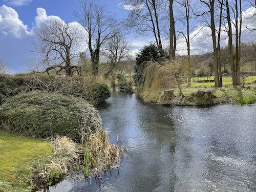 The River Misbourne on the Little Missenden loop