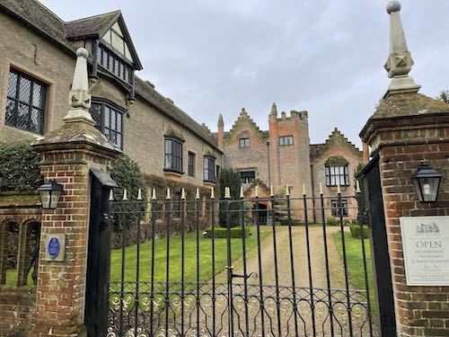 The beautiful Chenies manor house on the Chess Valley Circular walk