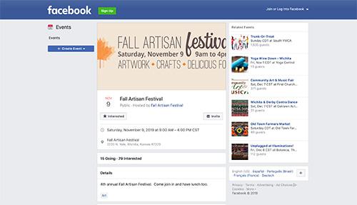 Fall Artisan Festival 2019