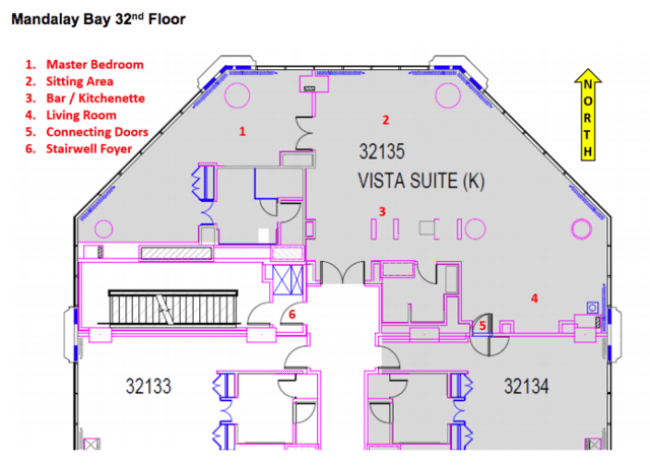 Image result for paddock mandalay bay room diagram