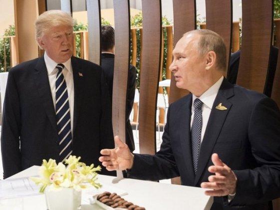 Image result for Trump says Putin may be easiest meeting of European trip