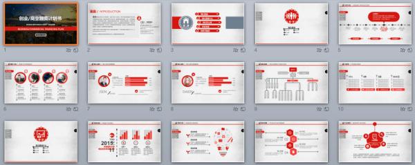創業融資簡報怎麼做?15套免費PPT商業模板