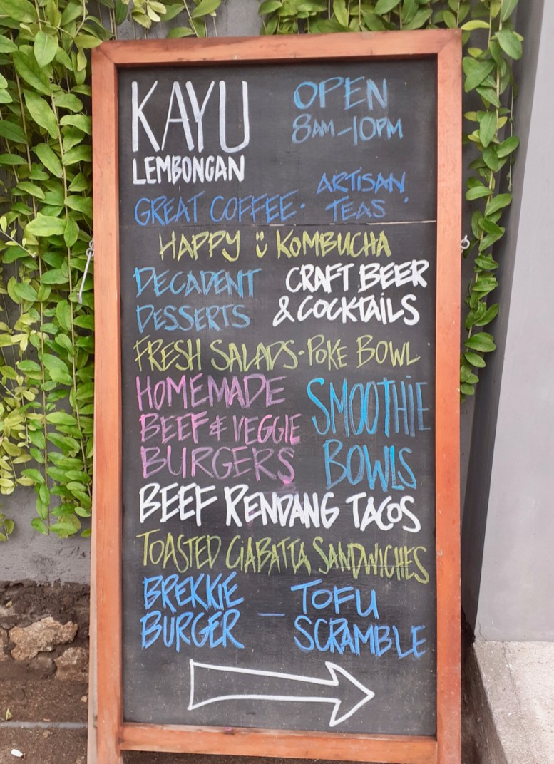 Spoilt for good choices at Kayu