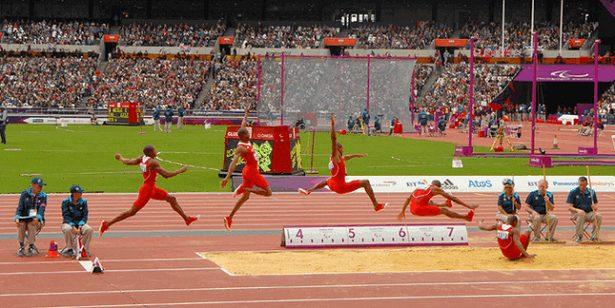 Gambar Lapangan Atletik Lompat