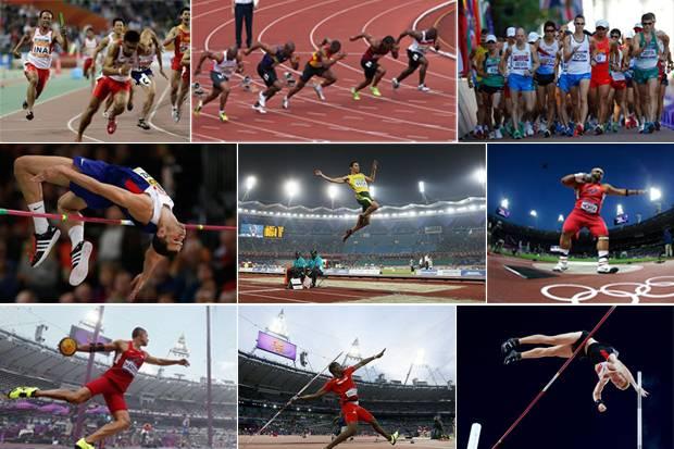 Sejarah Atletik Beserta Cabang-cabangnya