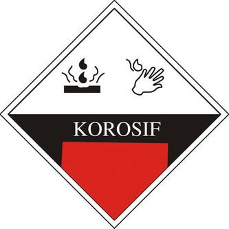 Bahan Kimia Korosif (Corrosive)