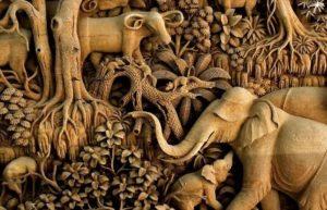 Contoh Seni Ukir Nusantara Yang Unik Dan Menarik Lenkap Penjelasanya