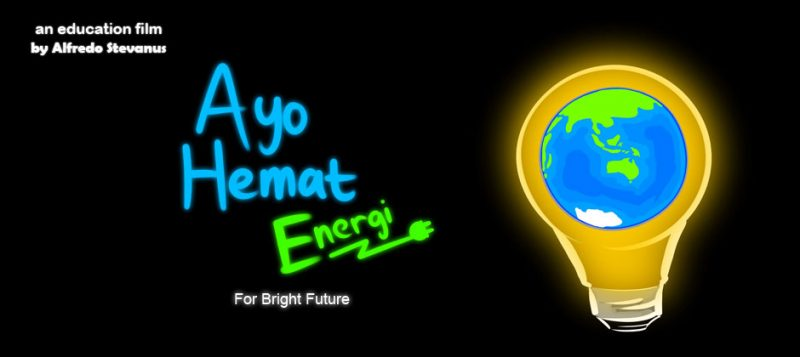 Poster Kartun Hemat Energi