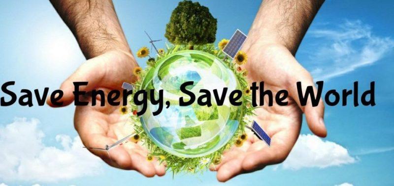 Save Energy, Save the World. Hemat energi berarti selamatkan dunia