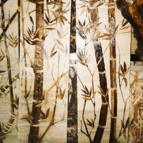 Gambar Kolase bambu