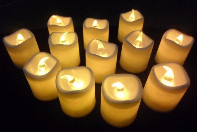 Lullaby Lampu Lilin Elektrik