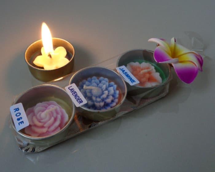 Souvenir Pernikahan Lilin Aromaterapi