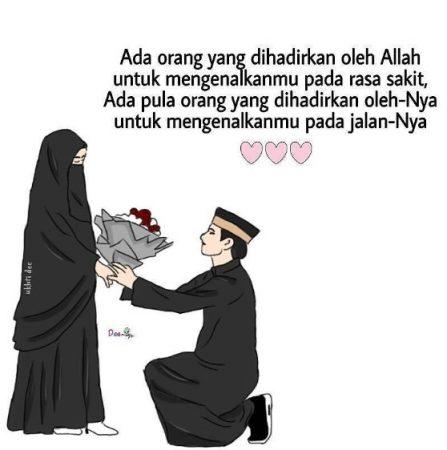 Gambar Kartun Muslimah dan Kata kata 13