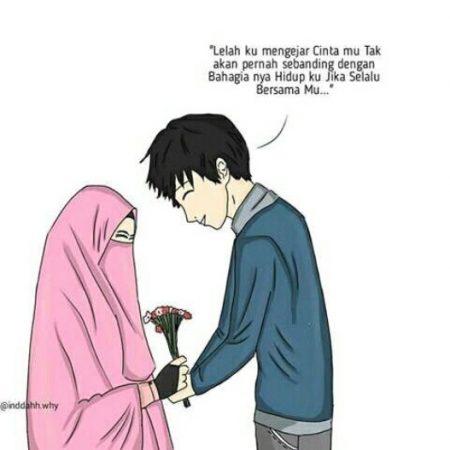 Gambar Kartun Muslimah dan Kata kata 15