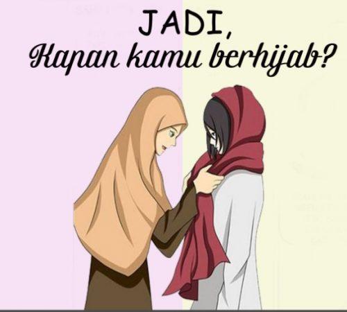 Gambar Kartun Muslimah dan Kata kata 4
