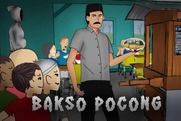 Gambar Kartun Pedagang Bakso