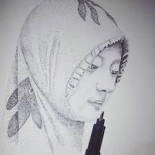 Gambar Lukisan Pointilis