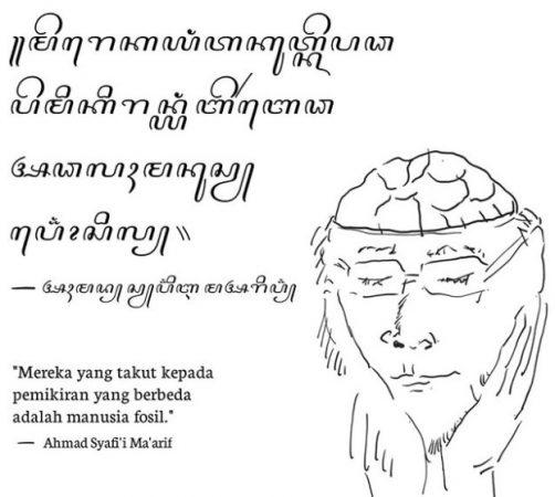 Kaligrafi Aksara Jawa dan Artinya 2