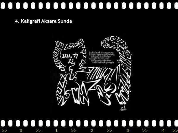 Kaligrafi Aksara sunda