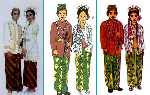 Pakaian Adat Banten Beserta Gambarnya