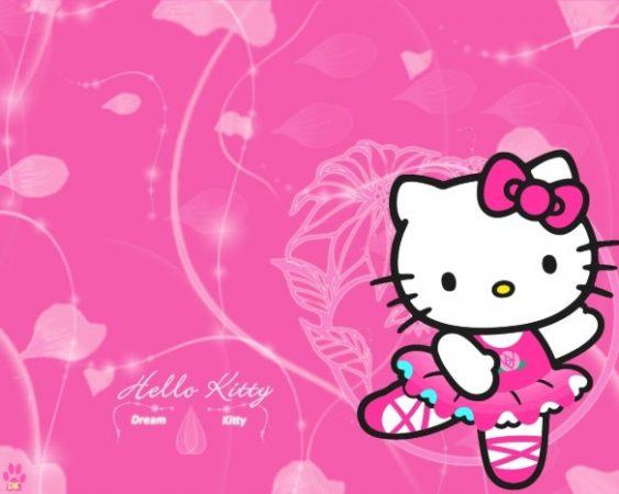 Wallpaper Hello Kitty untuk Laptop
