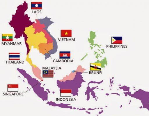 Batas Wilayah ASEAN Secara Astronomis