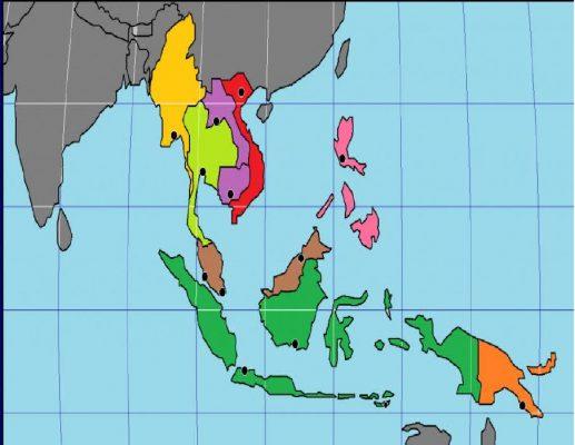 Peta Buta Asia Tenggara